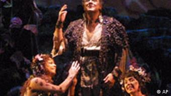 Domingo singing the title role in 'Parsifal' in 2001