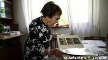 Patienten in der Klinik Dentaprime in Warna, Bulgarien. Sofie Pinkas, eine bulgarische Judin, die den Holocaust überlebt hat. Die Bilder sind von unserer Mitarbeiterin in Sofia Maria Milkova gemacht und alle Rechte gehören der DW.