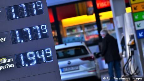 Benzinărie Germania prețuri mari