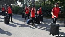 Spieler der Fußballmannschaft Persepolis Teheran Stichworte: Spieler der Fußballmannschaft Persepolis Teheran Quelle: mehrnews (rechtefrei)