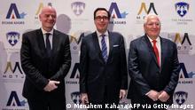 Israel Eröffnung des Friedman Center for Peace through Strength im Museum of Tolerance Jerusalem