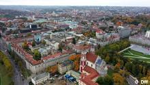 Titel: DW Euromaxx 16.10.2021 Vilnius Copyright: DW