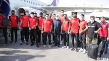 Spieler der Fußballmannschaft Persepolis Teheran Stichworte: Spieler der Fußballmannschaft Persepolis Teheran Quelle: isna (rechtefrei)