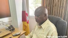 Nimi a Simbi, Präsident der Nationalen Front für die Befreiung Angolas (FNLA) in einem Exklusivinterview mit DW 14.10.2021 Luanda, Angola