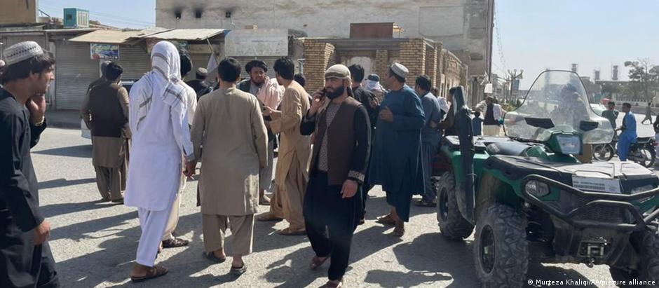 Afghanistan Bombenanschlag auf schiitische Moschee in der afghanischen Provinz Kandahar
