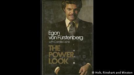 Capa de livro com uma foto do Príncipe Egon von Fürstenberg.