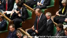 FILE PHOTO: Britain's MP Sir David Amess attends a Prime Minister's Questions session in the House of Commons, in London, Britain January 15, 2020. ©UK Parliament/Jessica Taylor/Handout via REUTERS THIS IMAGE HAS BEEN SUPPLIED BY A THIRD PARTY./File Photo