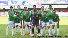 Some pictures of Bangladesh football team at SAFF Championship, which is being held in Maldives. Bangladesh Football Federation, BFF provided the photos