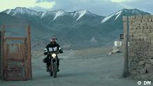 """""""NO LIMITS"""" – Margot's incredible journey – Part 1 Teaser: At the age of 64, Margot got on a motorcycle for the first time and dared go on an adventure: a trip from Germany to Iran. 117 days and 18,046 kilometres through Eastern Europe and Central Asia. A dream becomes reality. Tags: Margot Flügel Anhalt, solo ride, travel, adventure, Iran, Tehran, Honda 125, female biker, woman, motor bike"""