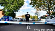 Полиция в районе места нападения на депутата британского парламента Дэвида Эмесса