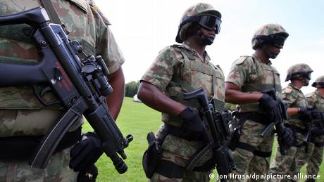 Members of the South African Police Special Task Force