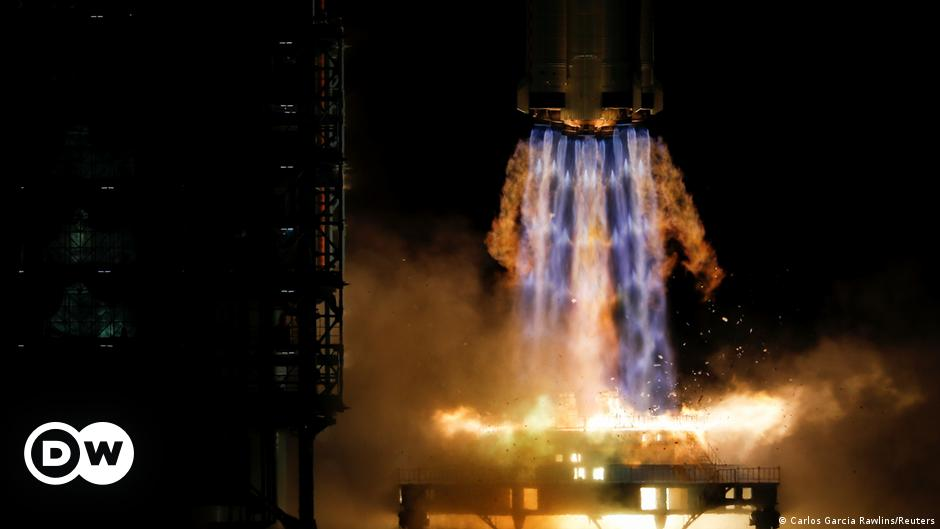 China launches 3 astronauts on mission towards completing space station