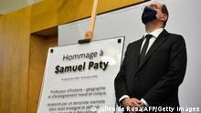 Frankreich Attentat l Jahrestag der Ermordung des Lehrers Samuel Paty l Castex