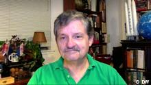 Astrobiologe Keith Cowing erläutert Mission der NASA-Sonde Lucy Ort: Washington, DC Sendedatum: 16.10.2021 Astrobiologe Keith Cowing im DW-Interview.