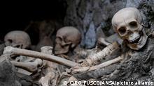 Italien Skelett-Fund in antiken Stadt Herculaneum