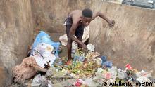 Hunger in Angola (Symbol) Copyright: Adalberto José/DW Schlagwörter: Angola, Hunger