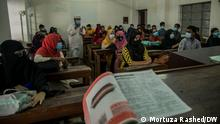After 19-month of coronavirus the Dhaka University started on-campus classes from Sunday (17.10.2021). Students have arrived at the campus to attend to the classes. 17.10.2021 Place: Dhaka University.