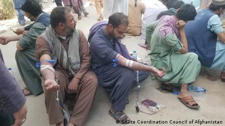 Afghanistan Kandahar Selbstmordattentat des IS auf Schiiten-Moschee