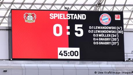 Fußball Bundesliga   Bayer Leverkusen v Bayern München