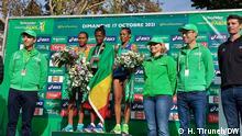 17.10.21 Frankreich | Paris Marathon: 1. Tigist Memuye (ETH) – 2:26:12 1. Tigist Memuye (ETH) – 2:26:12 2. Yenenesh Dinkesa (ETH) – 2:26:15 3. Fantu Jimma (ETH) – 2:26:22 4. Waganesh Mekasha (ETH) – 2:26:37