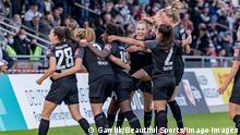 Frauen Bundesliga   Eintracht Frankfurt vs. FC Bayern München, Frankfurt