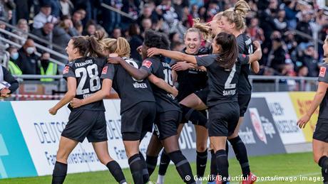 <div>Big upsets bring excitment to the Women's Bundesliga</div>