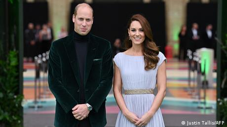 Britain's Prince William and Kate, Duchess of Cambridge at Earthshot Prize ceremony