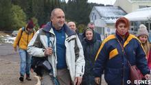 Der bulgarische Präsident Rumen Radev bei einer Bergwanderung nahe der Hauptstadt Sofia im Oktober 2021