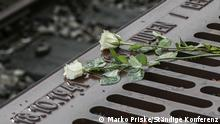 18.10.2021 | Mit einer Gedenkveranstaltung wurde dem Beginn der Deportationen von Juden aus Berlin vor 80 Jahren gedacht.