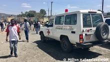 18.10.2021, Mekelle, Ethiopia. The Ethiopian army carried out air strikes on Tigray's capital Mekelle