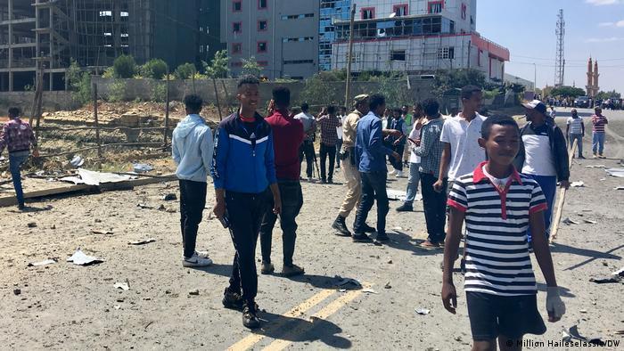Äthiopien   Luftangriffe in Mekelle