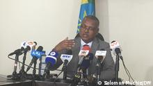 18.10.2021, Addis Abeba-Ethiopia, Legesse Tulu, head of the Government Communication Service of Ethiopia