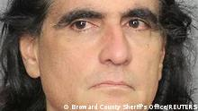 Alex Saab Moran is seen in a booking photograph available to Reuters on October 17, 2021. Broward County Sheriff's Office/Handout via REUTERS ATTENTION EDITORS- THIS IMAGE HAS BEEN SUPPLIED BY A THIRD PARTY.