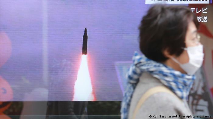 Coreia do Norte disparou míssil balístico no mar, diz Seul