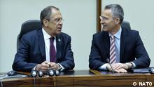 19 May 2015 NATO Secretary General Jens Stoltenberg and Sergey Lavrov, Minister of Foreign Affairs of the Russian Federation