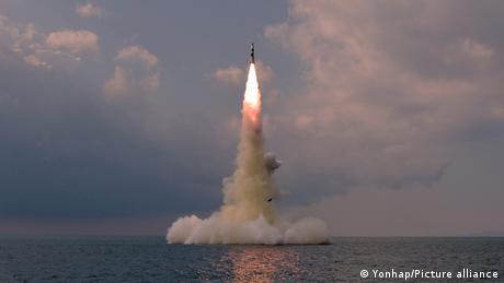 Nordkorea Teststart einer neuen SLBM