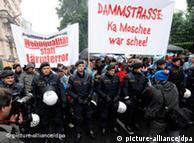 Διαδηλώσεις στη Βιέννη εναντίον της κατασκευής τζαμιού