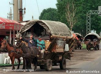 Neki Romi ovako stigli na festival pored Temišvara
