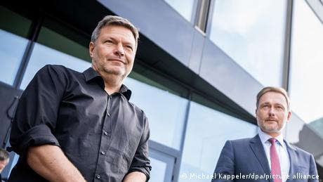 Robert Habeck and Christian Lindner