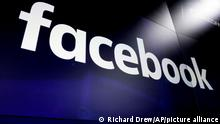 """FILE - In this March 29, 2018 file photo, the logo for social media giant Facebook, appears on screens at the Nasdaq MarketSite, in New York's Times Square. Facebook says it has shut down some Italian accounts that were phony and pages that were spreading fake news ahead of European Union parliamentary elections. The social network said Sunday, May 12, 2019 it """"removed a number of fake and duplicate accounts that were violating our authenticity polices, as well as multiple pages for name change."""" (AP Photo/Richard Drew, File)"""