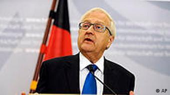Economics Minister Rainer Bruederle speaks