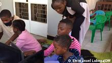 10.10.2021 Kampala, Uganda. IT, Uganda, teaching.