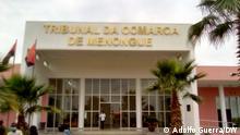 Comarca von Menongue, die erste in der Provinz Cuando Cubango, Angola.