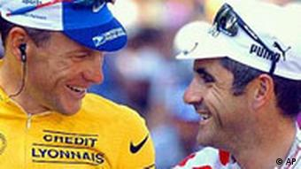Tour de France Lance Armstrong und Laurent Jalabert