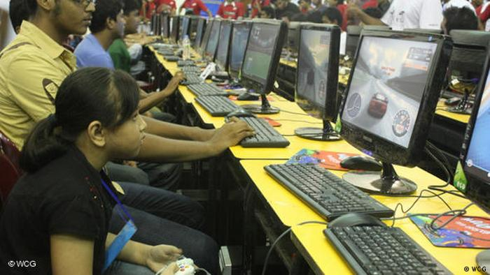 World cyber games Weltmeisterschaft in Bangladesh