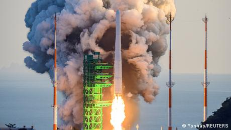 South Korea space rocket test prompts fear of arms race with North