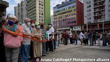 Очереди на вакцинацию в Каракасе, Венесуэла. 16 сентября 2021