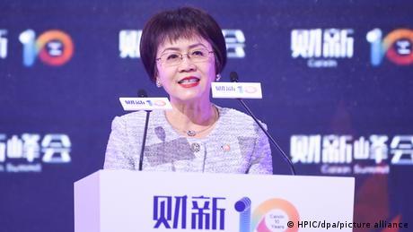 China Caixin Media Herausgeberin Hu Shuli