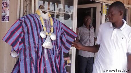 <div>Ghana's thriving smock industry</div>