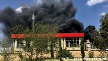 Ethiopia`s Army Air Strike on Äthiopien, Mekelle, Tigray,Tigray